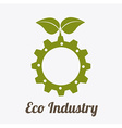 eco industry design vector image vector image