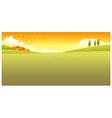 Green Landscape vector image
