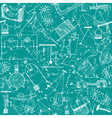 Physics seamless pattern vector image vector image