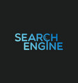 search engine label vector image
