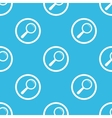 Search sign blue pattern vector image vector image