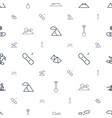 snow icons pattern seamless white background vector image vector image