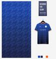 soccer jersey pattern design geometric pattern vector image vector image