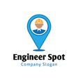 spot design vector image vector image