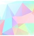 Triangular geometric shapes vector image vector image