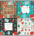 christmas and new year elements set christmas vector image vector image