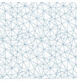 grey network web texture seamless pattern vector image