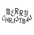 Merry christmas lettering holiday calligraphy