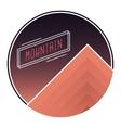 mountain mountain logo vector image vector image