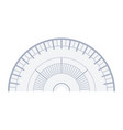 navigator protractor icon flat isolated vector image vector image