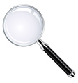 Realistic magnifying glass vector | Price: 1 Credit (USD $1)