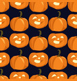 seamless background for halloween vector image vector image