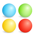 Colored Spheres vector image
