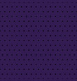 black polka dots on purple background vector image