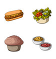 food rest refreshments and other web icon in vector image vector image
