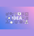 idea modern vector image vector image