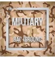 Military modern camo background vector image