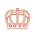 neon crown royal accessory gem jewelry vector image