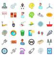 shop reader icons set cartoon style vector image vector image