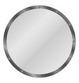 circle shield vector image vector image