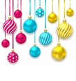 Elegant Background with Collection Colorful vector image vector image