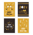 happy new year 2021 greeting cards celebration vector image vector image