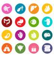 internal human organs icons set colorful circles vector image vector image