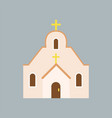 large orthodox cathedral house of god catholic vector image vector image