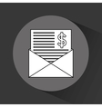 mail payment service vector image