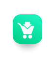 purchase add to shopping cart icon vector image