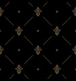 seamless dark pattern decor vector image vector image