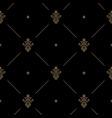 seamless dark pattern decor vector image