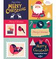 set christmas banners vector image vector image