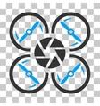 Shutter Drone Icon vector image vector image