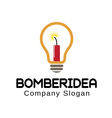 Bomber Design Idea vector image vector image