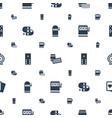 gambling icons pattern seamless white background vector image vector image