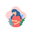 pregnant-mother vector image