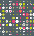 spotted abstract background vector image vector image