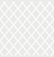 white seamless pattern background with abstract vector image vector image