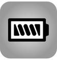 Battery icon - flat design Eps 10 vector image vector image