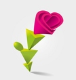 Flower Shaped vector image vector image