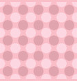 geometrical repeating pattern - circle background vector image vector image