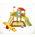 Playground vector image