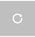 reset computer symbol vector image vector image