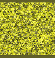 triangle pattern seamless background vector image vector image