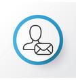 communication icon symbol premium quality vector image
