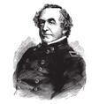 general joseph g totten vintage vector image vector image