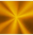 Gold Technology Metal Background vector image vector image