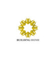 home buildings logo and symbols icons vector image
