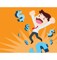 success of money vector image